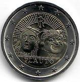 Italien 2€ Gedenkmünze 2016 - Plauto