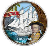 Cook Islands - Bounty William Bligh 2021