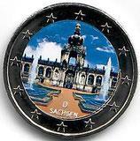 Deutschland 2€ Gedenkmünze 2016 A - Sachsen Dresdner Zwinger