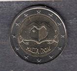 Malta 2€ Gedenkmünze 2016 - Love