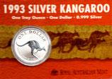 Australien - Känguru Royal Mint 1993 im Blister
