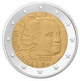 Finnland 2€ 2020 - 100. Geb. Väinö Linna