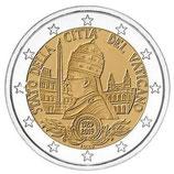 Vatikan 2€ Gedenkmünze 2019 - 90 Jahre Gründung Staat der Vatikanstadt