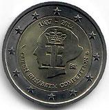 Belgien 2€ Gedenkmünze 2012 - Elisabeth