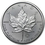 Kanada - Maple Leaf 1oz Platin