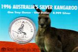 Australien - Känguru Royal Mint 1996 im Blister