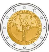Andorra 2€ Gedenkmünze 2018 - Menschenrechte