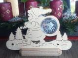 Weihnachten - Münzenständer aus Holz
