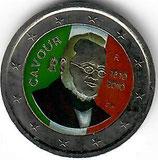 Italien 2 € 2010 - Benso koloriert A
