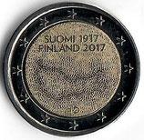 Finnland 2€ Gedenkmünze 2017 - 100 Jahre Unabhängigkeit
