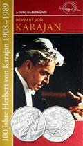 5 Euro Silber 2008 Karajan hgh