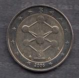 Belgien 2€ Gedenkmünze 2006 - Atomium