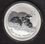 Australien Lunar II 2 Unzen 2008 Maus