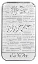 Großbritannien - James Bond Barren 2020