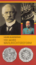 5 Euro Silber 2007 Wahlrechtsreform hgh