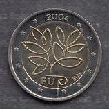 Finnland 2€ Gedenkmünze 2004 - EU Erweiterung