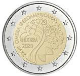 Andorra 2€ 2020 - Gipfeltreffen 2020
