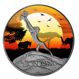 Niue - König der Löwen 2020 coloriert