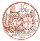 10 Euro Kupfermünze 2020 Tapferkeit