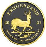 Südafrika - Krügerrand 2021 Ruthenium