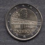 Luxemburg 2€ Gedenkmünze 2016 - Charlotte Brücke
