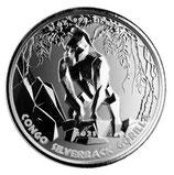 Kongo - Silberrücken Gorilla 2021