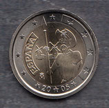Spanien 2€ Gedenkmünze 2005 - Don Quijote