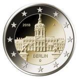 Deutschland 2€ 2018 - Berlin Charlottenburg D
