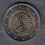 Lettland 2€ Gedenkmünze 2015 - EU Vorsitz