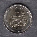 Deutschland 2€ Gedenkmünze 2017 - Rheinland Porta Nigra