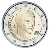 Italien 2€ 2019 - Leonardo da Vinci