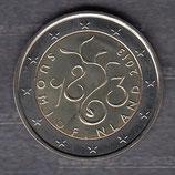 Finnland 2€ Gedenkmünze 2013 - 150 Jahre Parlament