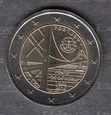 Portugal 2€ Gedenkmünze 2016 - Brücke