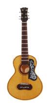 Gitarre aus Holz