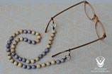 Brillenkette mit Ringkarabinern