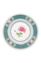Plate Blushing Birds Blue 17 cm