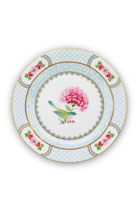 Plate Blushing Birds white 17 cm