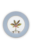 Plate La Majorelle 21cm blue