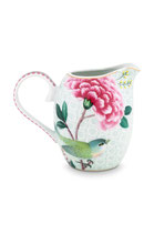 Jug Small Blushing Birds White 250 ml