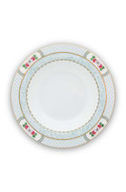Soup Plate Blushing Birds White ( 21.5cm )