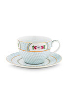 Cup & Saucer Blushing Birds White 280ml