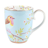 Early Bird Mug large blue 350ml