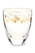 Water Glass Winter Wonderland Gold 360 ml