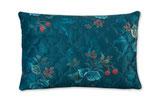 PIP Studio Zierkissen Leafy Stitch blau 42x65cm
