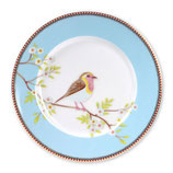 Plate Early Bird blue ( 21 cm )