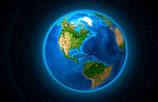 Erde Amerika (Magnet)