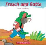 Velthuijs Max, Frosch und Ratte (Pappebuch)
