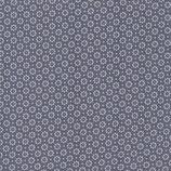 Fabric-Belle Fleur Stone-Blue