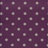 Dots Big - Plum / Grey