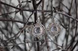Ohrenhänger Amulett mit Edelsteinen